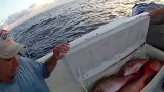 getlinkyoutube.com-Pulley Ridge on a 22 Foot Panga - Overnight Fishing Trip