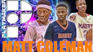getlinkyoutube.com-Matt Coleman is Oak Hill's Newest 5-STAR PG! Official Sophomore Mixtape!