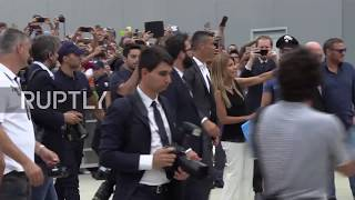 Italy: Cristiano Ronaldo receives hero welcome from Juventus supporters