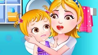 getlinkyoutube.com-Baby Hazel Game Movie - Baby Injury Care - Dora the Explorer