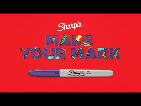 Sharpie Permanent Fine Point Markers 2 Pack - Black