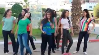 getlinkyoutube.com-رقص بنات تونس في كلية بنات الطب  مجوز اردني ولا احلا