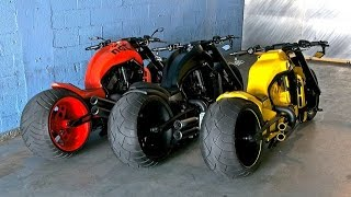 getlinkyoutube.com-Harley davidson v rod custom