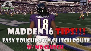 getlinkyoutube.com-Madden 16 | Easy TD Play | Glitchy Stock Fades