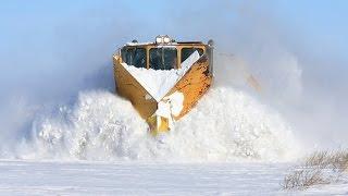 getlinkyoutube.com-Train Snow Plow In The World
