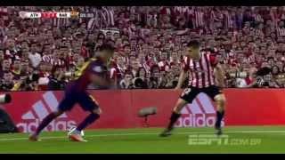getlinkyoutube.com-Neymar vs Athletic de bilbao  30/05/15 3-1 ( FINAL COPA DEL REY )