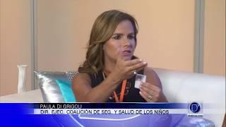 Entrevista a Paula DiGrigoli sobre el Mes de la Seguridad en el agua