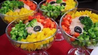 getlinkyoutube.com-سلطة الخضروات الملونة - مطبخ منال العالم