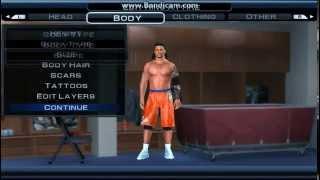 getlinkyoutube.com-WWE SVR 11 JIMMY USO CAW FORMULA