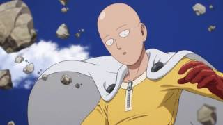 getlinkyoutube.com-Saitama vs Genos Fight | One Punch Man (60FPS)