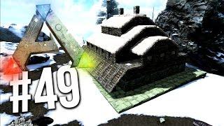 getlinkyoutube.com-Ark Survival Evolved - SNOW BASE BUILD! SNOW BIOME BASE! EP 49 (Ark Survival Evolved Building)