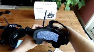 "getlinkyoutube.com-Eachine EV800 5""FPV goggles unboxing and quick testing (Courtesy Banggood)"