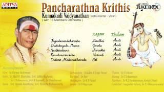 getlinkyoutube.com-pancharathna Krithis ||  Kunnakudi Vaidyanathan || Instrumental Violin