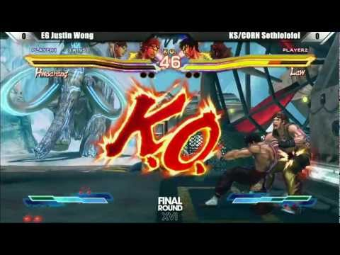 Justin Wong vs Sethlolol - Street Fighter X Tekken - Final Round XVI Winners Finals