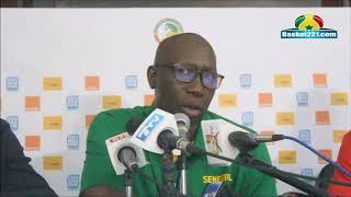 (Vidéo) Abdourahmane Ndiaye, coach des lions du basket: « je suis satisfait de mes joueurs qui se sont donnés à fond… »