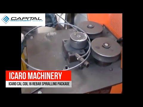 ICARO CAL COIL16 Rebar Spiralling Package
