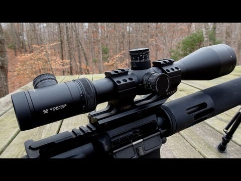 AR15 SCOPE CAM:  Vortex Viper PST 4-16x50