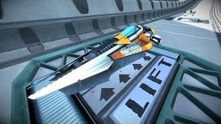getlinkyoutube.com-6 Minutes of Wipeout Omega Collection Gameplay in 4K 60fps - PSX 2016