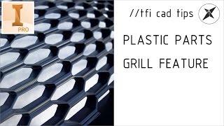 getlinkyoutube.com-How to Grill (Plastic Parts) | Autodesk Inventor