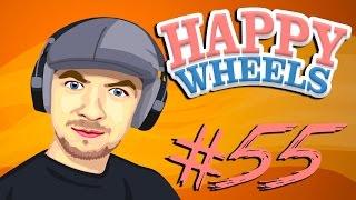 getlinkyoutube.com-MORE LIKE SUCKFALL STEVE! | Happy Wheels - Part 55