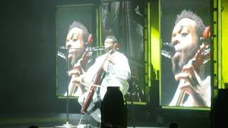getlinkyoutube.com-10/26/16 - Pentatonix Kevin Olusola Cello Beatbox - Xcel Center, St. Paul, MN