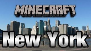 getlinkyoutube.com-Minecraft New York City Map DOWNLOAD !!! (Time Square) [HD 720p]