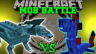 getlinkyoutube.com-FROST DRAGON VS WATER DRAGON - Minecraft Mob Battles - Minecraft Mods