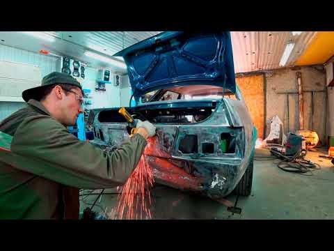 Форд Орион. Покрас в круг с переваркой порогов и арок