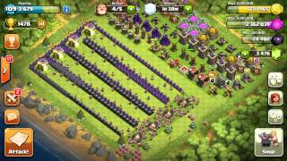 getlinkyoutube.com-Clash of Clans - Barbarians on Boost! Barbarian Marathon!