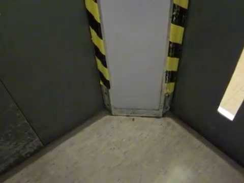Häfelein & Windeck traction elevator without inner door at the Physics Institute in Bonn