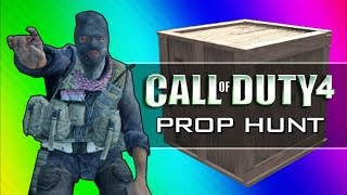 getlinkyoutube.com-Call of Duty 4: Prop Hunt Funny Moments - Home Alone Rated R, Scanning for Retards (CoD4 Mod)