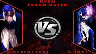 getlinkyoutube.com-[KOFM Dream Match] N.Orochi Iori (CPU) vs Nightmare Iori (CPU)