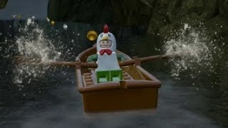 getlinkyoutube.com-LEGO The Hobbit - Overworld Guide #17 - Hobbiton (Mithril Bricks & Characters)
