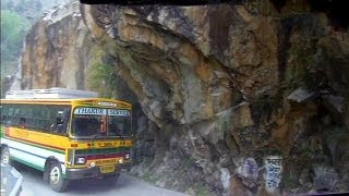 getlinkyoutube.com-Wild bus ride in the Himalayas to Manikaran, India