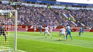 Zenit Saint Petersburg 2-1 Dinamo Moscow