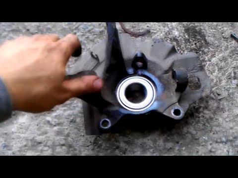 Замена подшипника передней ступицы Kia Cerato 2004-2008 1ое поколение