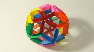 getlinkyoutube.com-Origami Flexiball (Jorge Pardo)
