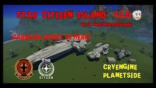 Star Citizen Island - Carrack vs. Aquila vs. DUR