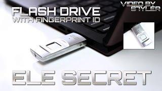 getlinkyoutube.com-Elephone ELE Secret 64GB Fingerprint Encryption U-Disk USB Flash Drive // Video by s7yler