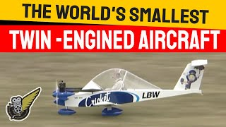 getlinkyoutube.com-Cri Cri - World's Smallest Twin Engine Aircraft