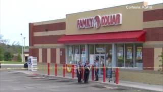 Un tiroteo en un Family Dollar de Kansas City, Kansas dejo como saldo un muerto