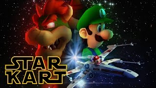 getlinkyoutube.com-Star Kart - Star Wars + Mario Kart