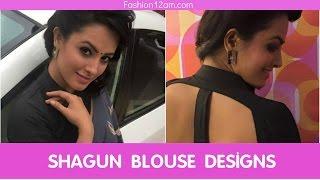 getlinkyoutube.com-Shagun aka Anita blouse designs-Yeh hai mohabbatein