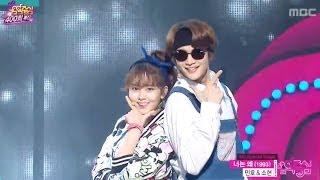 getlinkyoutube.com-Minho & Sohyun - Why do you, 민호 & 소현 - 너는 왜, Music Core 20140308