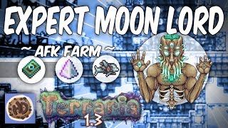 getlinkyoutube.com-Terraria 1.3 Expert Mode AFK Moon Lord Farm | 1.3 New Bosses