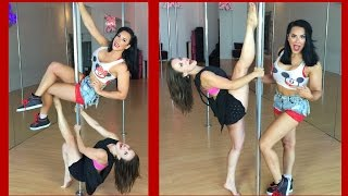 getlinkyoutube.com-Pole Dancing with the YouTube Stars: Olga Kay