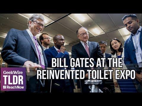 """Білл Гейтс показав """"унітаз майбутнього"""""""