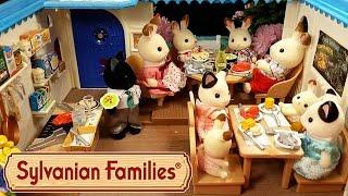 getlinkyoutube.com-Морской ресторан Sylvanian Families обзор + мультик с игрушками. Seaside Restaurant