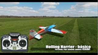getlinkyoutube.com-Voando 3D - TUTORIAL - Holling Harrier (básico)