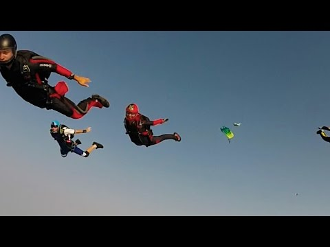 Friday Freakout: High Speed Skydiving Collision & Premature Opening